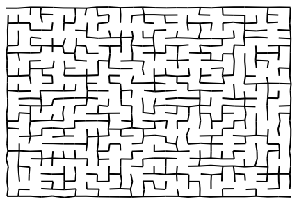 Image result for newspaper maze
